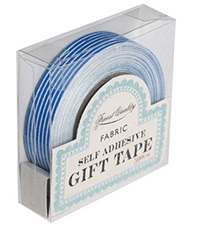 fabric tape lineas azul