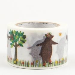 MT masking tape Kasaneru bear