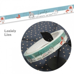 Shinzi Katoh Decorative tape Lonley lion