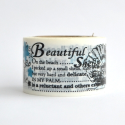 Wt* washi tape Beautiful