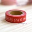 MASTE Grand Paris / letter / Red