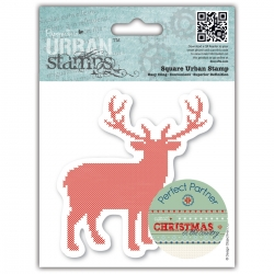"""Sello 4 x 4"""" Christmas in the Country"""