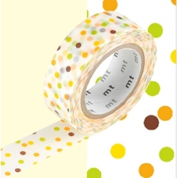 MT 1P masking tape Drop yellow