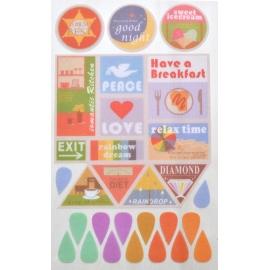 Stickers - Corazones