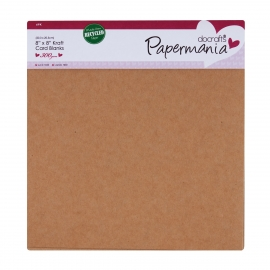 Pack de 6 tarjetas craft y sobres