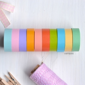 Masking tape set 10 Light color 2