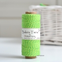 Bakers Twine HEMPTIQUE 125 m Amarillo / Verde