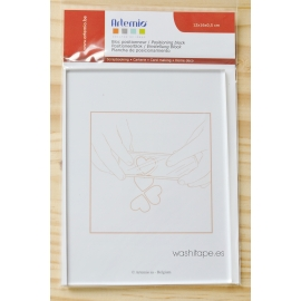 Artemio Bloque acrílico 12 x 16 x 0,5 cm