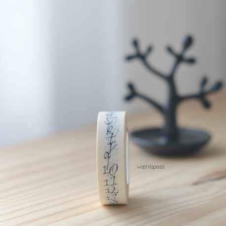Masking tape Classiky Jeden Tag Calligraphy