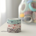 "Set 3 masking tape Classiky ""Ten to sen"" birds"