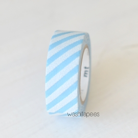 Mt terciopelo stripe blue