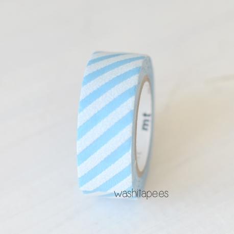 Mt terciopelo stripe blue