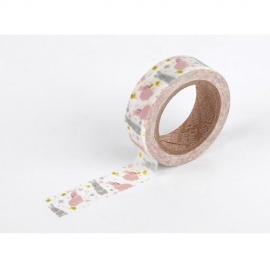 Dailylike masking tape Chubby rabbit