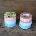 Masking tape set 3 Classiky Small flower