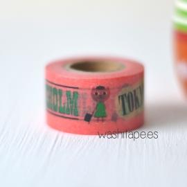 MASTE masking tape Ingela Pink