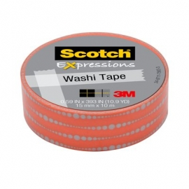 Washi tape Scotch frecuencia