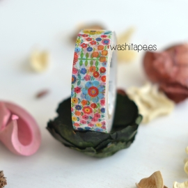Masking tape MT mini flower garden
