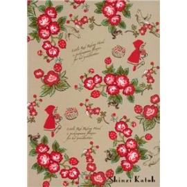 """Postal Shinzi Katoh """"Caperucita Rosas"""""""