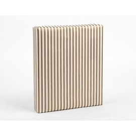 Dailylike papel de regalo Gold Stripe