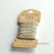 Bakers Twine HEMPTIQUE 6 m Beis/plata