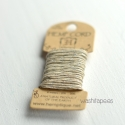 Bakers Twine HEMPTIQUE 6 m Beis/ Plata