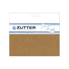 "Cubiertas Chipboard - 2,8 mm - 4,1""x 6.2"" (15,7 x10,5 cm) para Bind-It-All (1 par)"