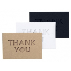 mini card set Thank you
