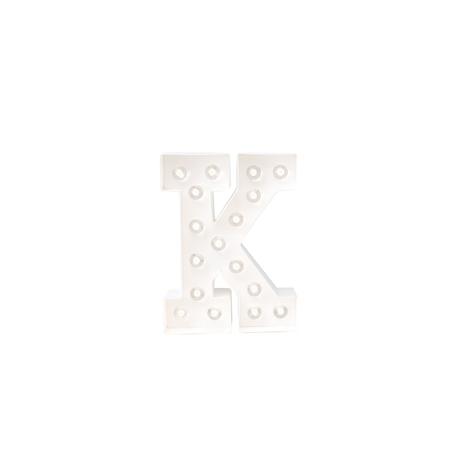 Letra Luminosa Marquee K