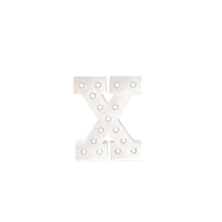 Letra Luminosa Marquee X