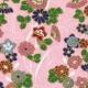 Papel Origami Flores