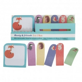 MINI MEMO PADS ANIMALES