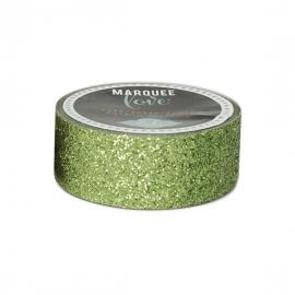 Marquee Washi Green Glitter