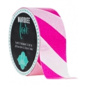 Marquee Love Diagonal Stripe Washi tape Pink