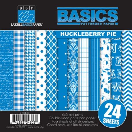Kit papeles 15 x 15 cm Huckleberry Pie