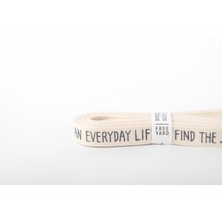 "Dailylike cinta algodón ""find the joy"""