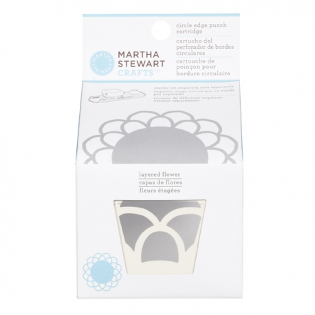 Perforador de bordes circulares Martha Stewart Crafts
