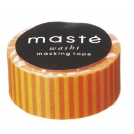Maste mini Orange stripe