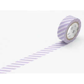 MT masking tape stripe lilac