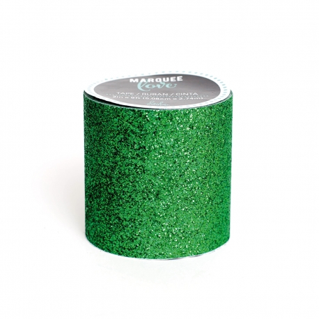 Glitter xl marquee dark green