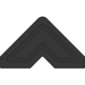 Esquinas adhesivas papel negro