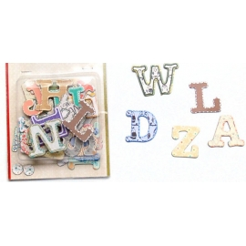 Blister 28 Letras Sticker