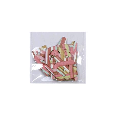 Surtido abecedario rosa