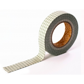 Dailylike Fabric tape Gingham check mint