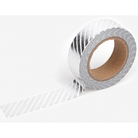 Dailylike Masking Tape Pencil Oblique Silver