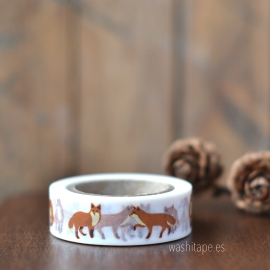 Dailylike masking tape winter fox