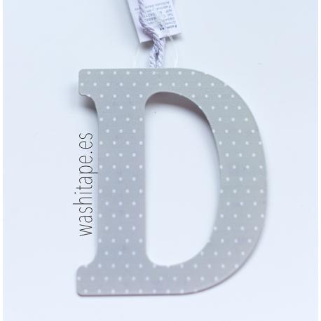 Letra de metal T 10 cm