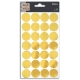 28 Stickers oro- confettis