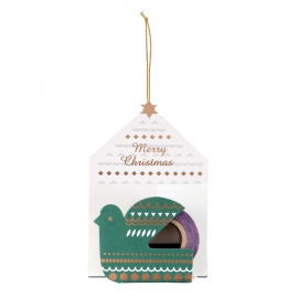 Mini maste masking tape Xmas Ornament bird