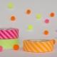 MT masking tape Stripe shocking pink