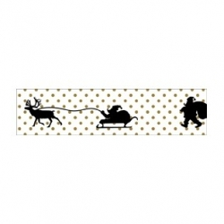 MT masking tape Santa dot